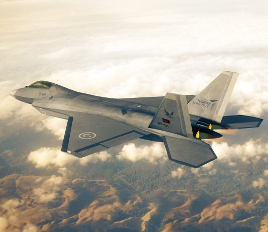 Turkish Fighter Jet TF-X