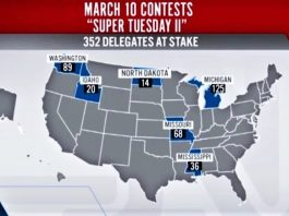 Super Tuesday II 2020 USA Elections